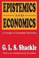 Epistemics and Economics