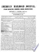 American Railroad Journal Book