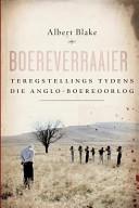 Books - Boereverraaier: Teregstellings tydens Die Anglo-Boereoorlog | ISBN 9780624049227