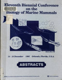 Abstracts  Eleventh Biennial Conference on the Biology of Marine Mammals