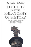 Lectures on the Philosophy of History [Pdf/ePub] eBook