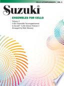 Ensembles for Cello  Volume 2 Book
