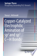Copper Catalyzed Electrophilic Amination of sp2 and sp3 C   H Bonds