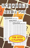 Scrabble Score Pad for Upto 4 Players