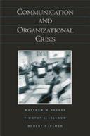 Communication and Organizational Crisis