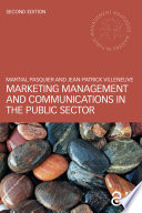Marketing Management and Communications in the Public Sector