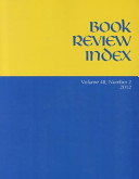 Book Review Index  Volume 48  Number 2
