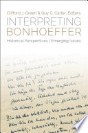 Interpreting Bonhoeffer