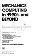 Mechanics Computing in 1990 s and Beyond  Computational mechanics  fluid mechanics  and biomechanics Book