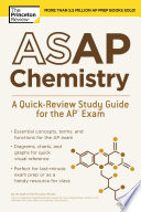 ASAP Chemistry  A Quick Review Study Guide for the AP Exam Book
