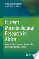 Current Microbiological Research in Africa Book