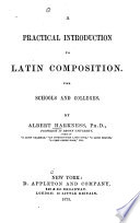 Practical Introd. to Latin Composition