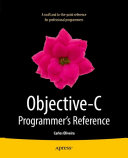 Objective C Programmer s Reference