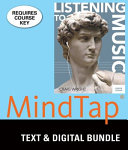 Listening to Music + Lms Integrated for Mindtap Music, 6-month Access