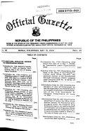 Official Gazette Book