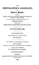 The shipmaster's assistant, and owner's manual