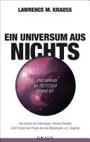 Ein Universum aus Nichts: ... und warum da trotzdem etwas ist