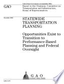 Statewide Transportation Planning