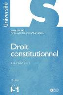 Droit constitutionnel - 32e édition