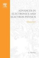 Advances in Electronics and Electron Physics [Pdf/ePub] eBook