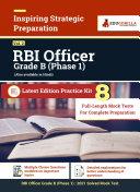 RBI Grade B Prelims [Phase-1] (Vol.2) 2021 | Preparation Kit of 8 Full-length Mock Tests Pdf/ePub eBook