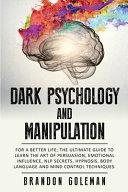 Dark Psychology And Manipulation Book PDF