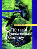 Cover of Chemical Fundamentals of Geology