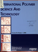 International Polymer Science and Technology