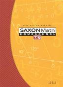 Saxon Math 7 6