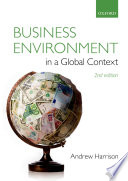 Business Environment in a Global Context Book