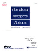 International Aerospace Abstracts