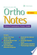 Ortho Notes Book