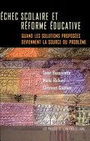 Échec scolaire et réforme éducative