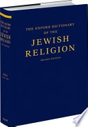 The Oxford Dictionary of the Jewish Religion Book