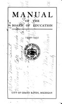 Manual of the Board of Education