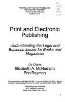 Print and Electronic Publishing