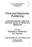 Print and Electronic Publishing Book