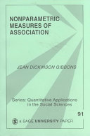 Nonparametric Measures of Association