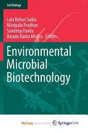 Environmental Microbial Biotechnology Book