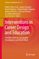 Pdf Interventions in Career Design and Education Telecharger