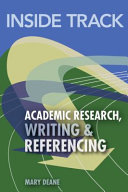 Academic Research  Writing and Referencing