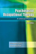 Psychosocial Occupational Therapy Book