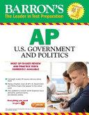 Barron's AP U. S. Government and Politics