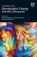 Handbook On Demographic Change And The Lifecourse PDF