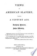 Views of American Slavery