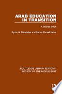 Arab Education in Transition