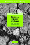 Business  Integrity  and Peace