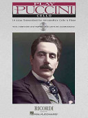 Play Puccini: 10 Arias Transcribed for Cello and Piano