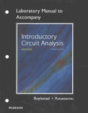 Cover of Laboratory Manual for Introductory Circuit Analysis