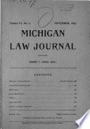 Michigan Law Journal